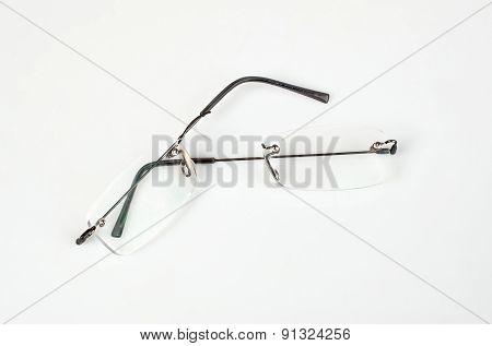 Eyeglasses With Lightweight Frame Broken