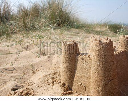 Sandcastle in the Dunes