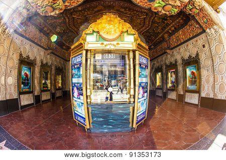 Entrance Of El Capitan Theatre