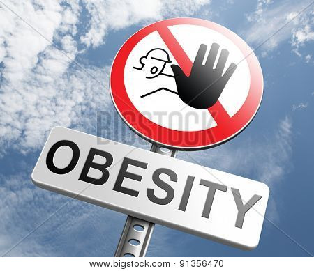 obesity prevention stop over weight start campaign with low fat diet for obese children and adults with eating disorder