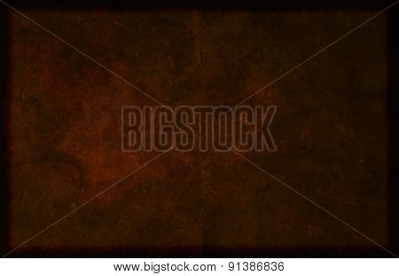 Dark Brown Bordered Textured Material Background