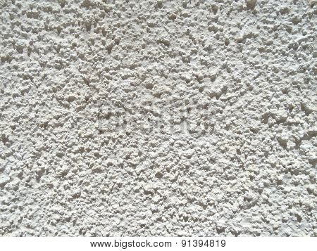 White mortar wall texture