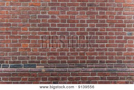 Old Philadelphia Red Brick Wall