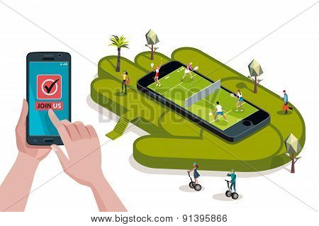 Tennis Court Booking Join Us