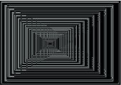 background with lines perspectives gven an optical effect poster
