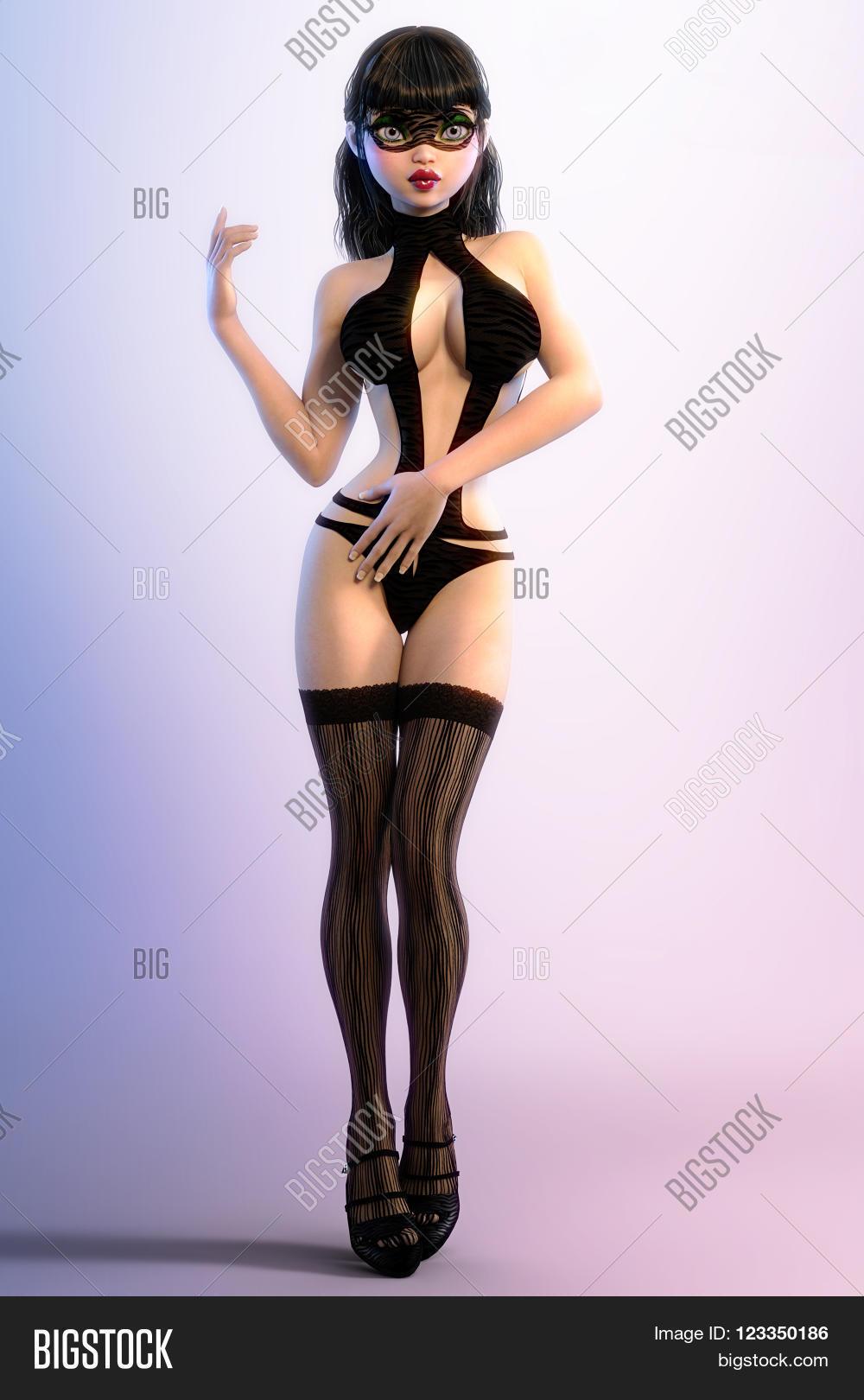 sexy glamorous girl image & photo (free trial)   bigstock