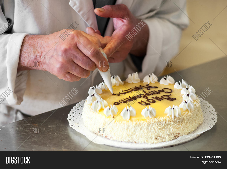 Close Male Baker Image Photo Free Trial Bigstock
