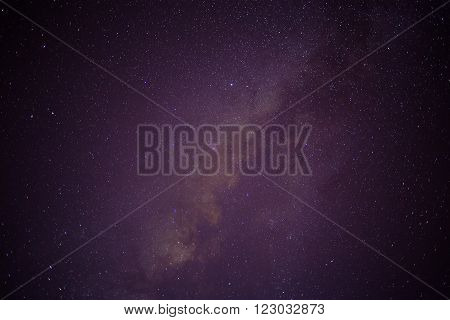 Sky Filled With Stars, Galaxy