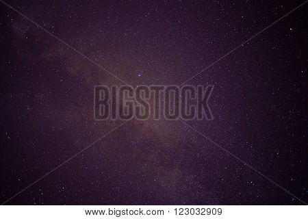 Sky filled with stars, galaxy, night background