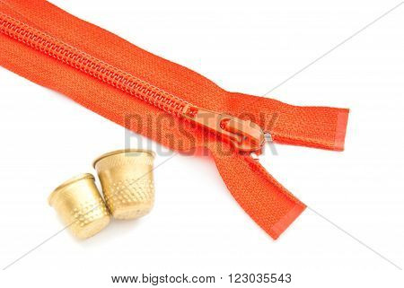 Single Zipper And Thimbles