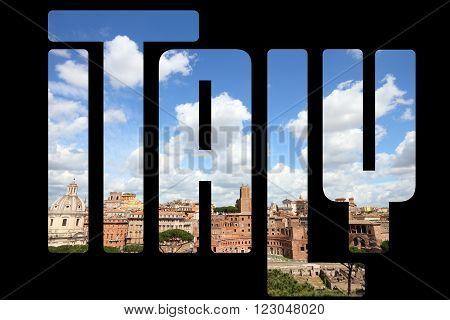 Italy Word