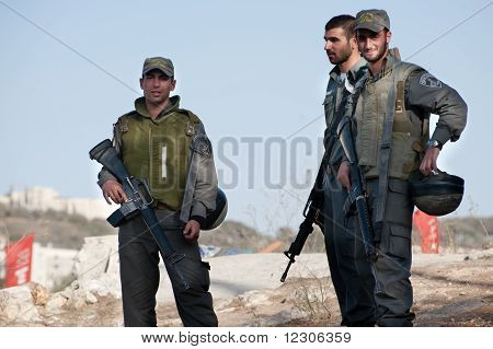 Israeli Soldiers In East Jerusalem