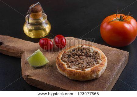 Traditional Arabian Meet Sfiha