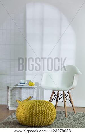 Comfort Space In Modern Living Room