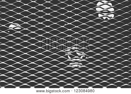 Metal fence vector illustration. Dark metal fence. Metal fence. Vector metal fence. Metal fence wallpaper. Metal fence background.