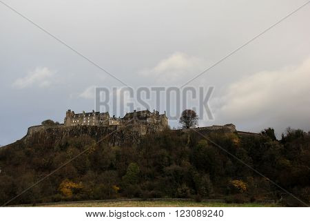 Historic Stirling Castle Stirling Central Scotland UK
