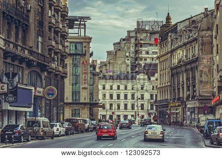Avenue Cityscape, Bucharest