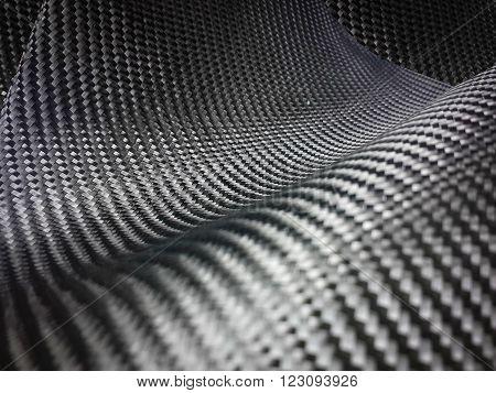 black carbon fiber industrial composite material background