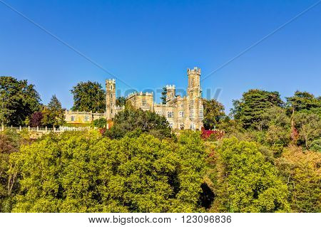 Eckberg Castle in Dresden a part from the three Elbe river hillside castles