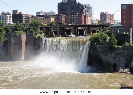 Downtown Waterfall