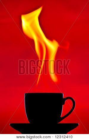 A very hot chocolate