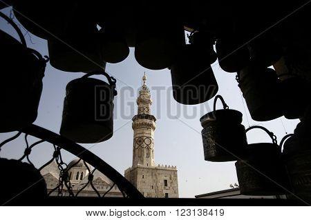 Middle East Syria Damaskus Umayyad Mosque