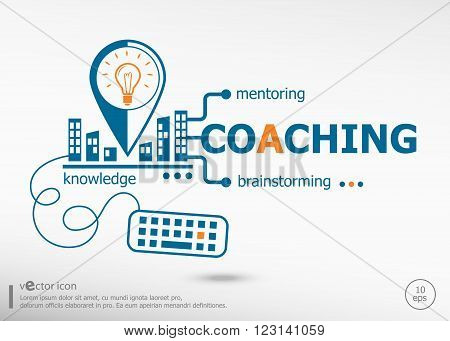 Coaching And Marketing Concept.