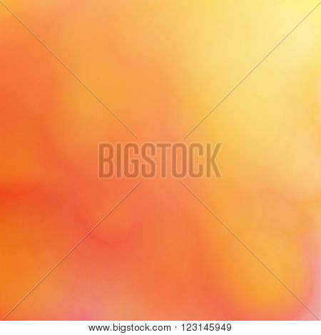 Abstract blurred background. Texture fluid jelly jujube jam jelly fruit pulp or smooth surface. Yellow shades