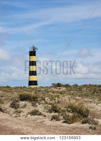 Remote Lighthouse at Punto Ninfas, Patagonia, Argentina