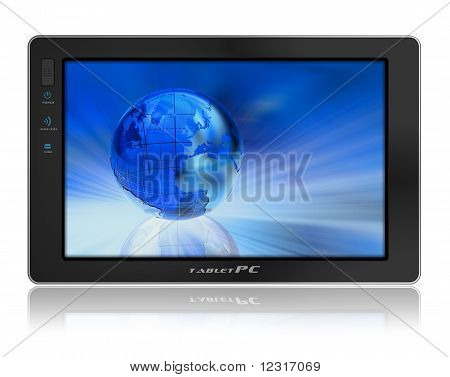 Konzeptionelle Tablet PC