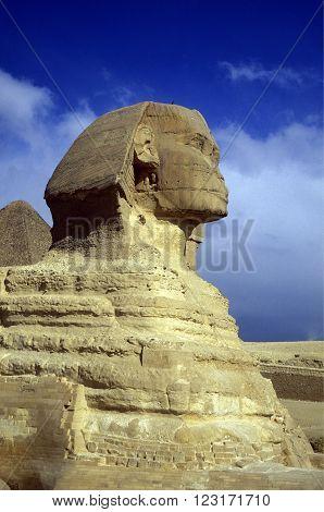 Africa Egypt Cairo Giza Pyramids