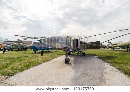 Mig 23 Mla Flogger G Jet Fighter