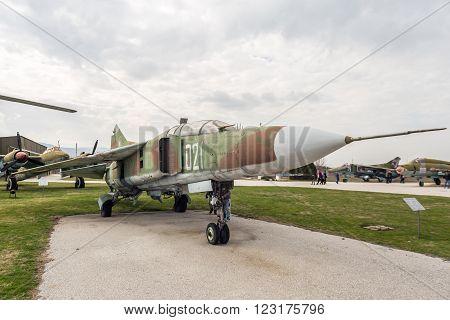 Mig 23 Ub Flogger C Jet Fighter