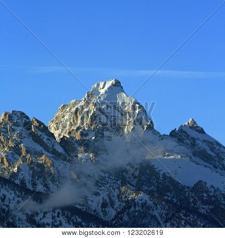 Buck Mountain - Grand Tetons National Park in Wyoming