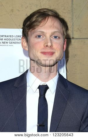 LOS ANGELES - MAR 22: Josh Brady at the Premiere of 'I Saw The Light' at the Egyptian Theatre on March 22, 2016 in Los Angeles, California