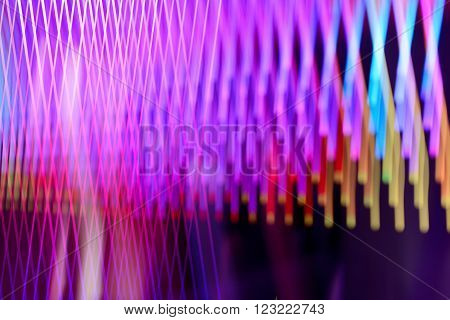 Bright abstrackt background of purple and red lines