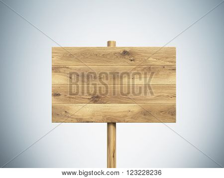 Wooden Nameboard