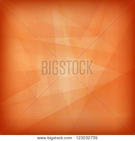 Orange Line Background. Abstract Orange Line Pattern