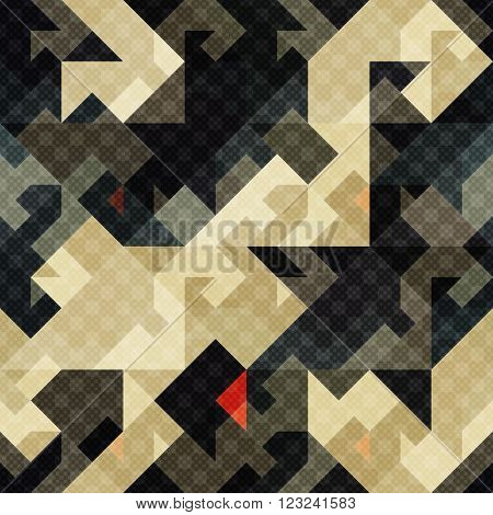 pixel seamless texture dark color vector illustration abstract high quality