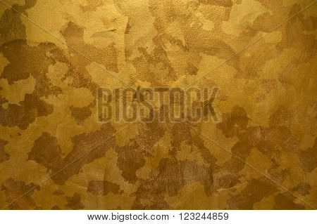abstract golden paint background