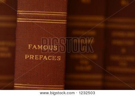 Famous Prefaces