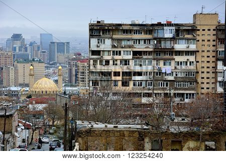 BAKU, AZERBAIJAN - JANUARY 27 2014 