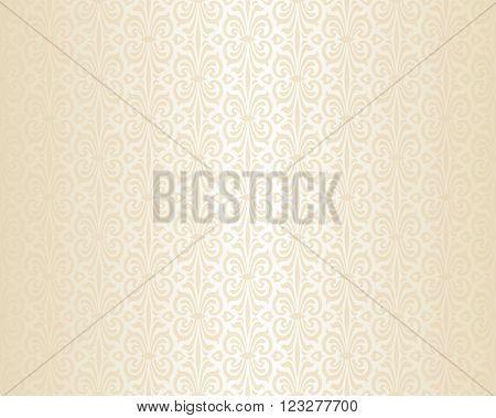 Bright wedding beige luxury vintage  background pattern