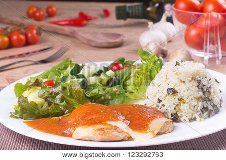Parmegiana Chicken Fillet