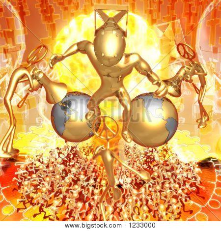 3D Nuclear Armageddon