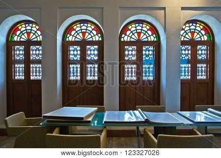 Manama, Bahrain - December 12 2006:The Abdullah Al Zaied House for the memory of the birth of journalism in Bahrain.