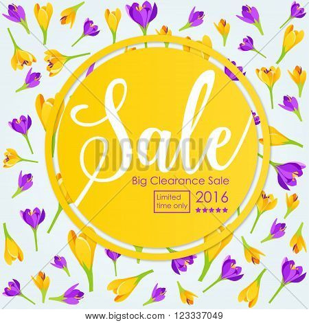 Spring Sale Clearance Poster for clearence sale