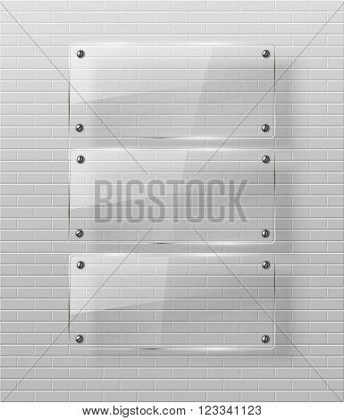 Glass framework