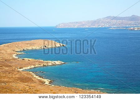 Famous   In Delos Greece   Historycal Acropolis And Site