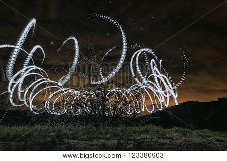 Night In The Anza-borrego Desert